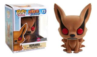 Funko Pop Naruto Kurama Flocked Exclusive #73
