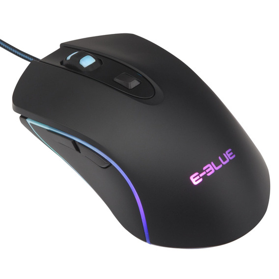 E-blue - Mouse Optico Rgb Gaming 3500 Dpi - Ems667