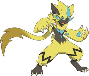 Pokémon Competitivo Zeraora Evento 6ivs Ultra Sun Ultra Moon