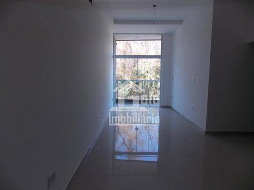 Imagem 1 de 5 de Apartamento Com 2 Dormitórios, 100 M² - Venda Por R$ 670.000,00 Ou Aluguel Por R$ 3.000,00/mês - Jardim Botânico - Ribeirão Preto/sp - Ap3626