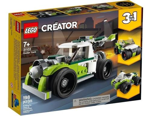 Imagen 1 de 6 de Lego 3 En 1 Camion A Reacción Creator 31103 Magic4ever