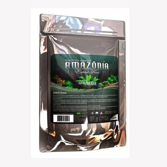 Substrato Fértil Extra Fino Mbreda Amazônia 1,5kg P Plantado