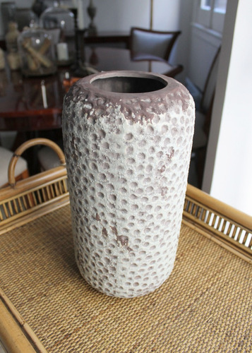 Jarrón Florero De Ceramica Grande!