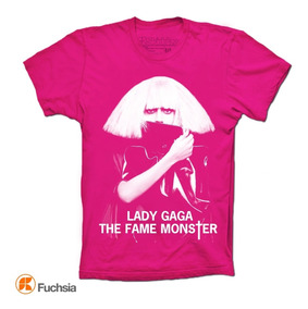 Lady Gaga Playeras Fame Monster Skiddaw T-shirts
