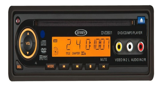 Jensen 12 Volt Cd / Dvd / Mp3 / Wma Player