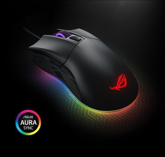 Mouse Asus Rog 6 Botoes Optico 12000