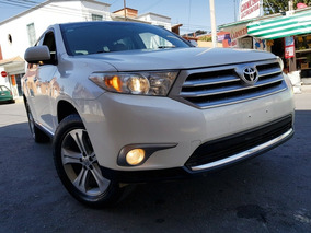 Toyota Highlander 2013 Limited R-19 4x4 Posible Cambio
