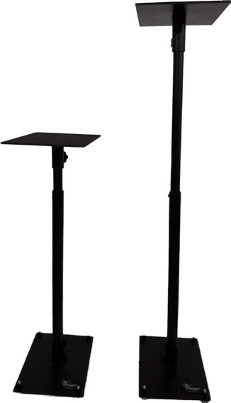Pedestal Base Monitor De Áudio Referência G4 (par)