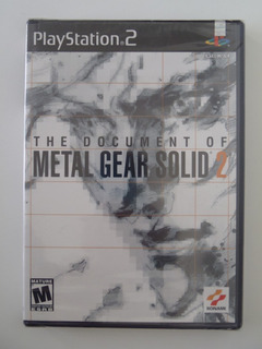 The Document Of Metal Gear Solid 2 Ps2 - Nuevo Sellado