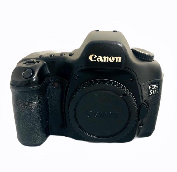 Canon 5d Fullfreme Seminova Impecável + Cartao Cf