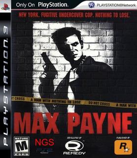 Max Payne 1 ~ Ps3 Digital Español