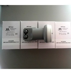 1 Lnb Duplo Universal Hds + 40mts Cabo Coaxial