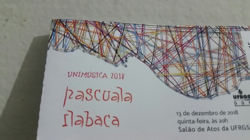 Pascuala Ilabaca - Ingresso Antigo Show Poa 13/12/2018
