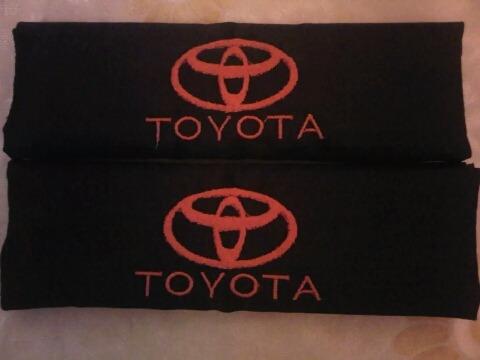 Bandanas Cinturones De Seguridad Toyota Prado Previa Roraima