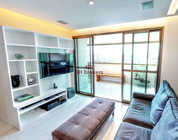 Apartamento 4 Quartos, 2 Suítes E 2 Semi-suítes - Villa Da Serra 143m² Por R$ 1.450.000 - 17900