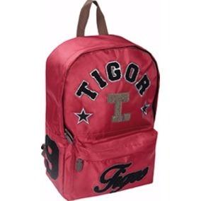Mochila Tigor T. Tigre Vinho Cód. 80202743