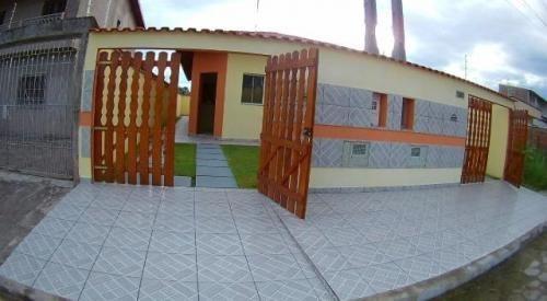 Casa Em Itanhaém Com 2 Quartos E Suíte, Lado Praia - 5870 Ps