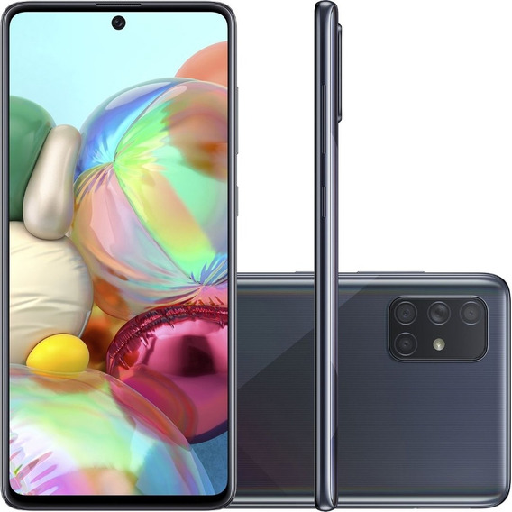 Celular Samsung Galaxy A71 128gb Tela 6,7 Câmera Quádrupla