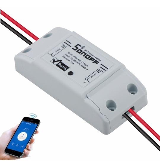 Control Remoto Wifi Domótica Inteligente Sonoff Casa