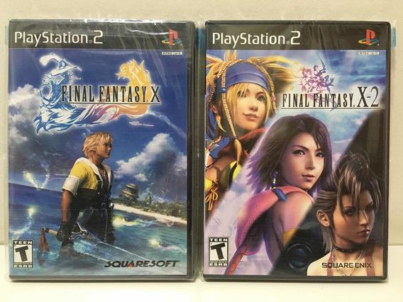Final Fantasy X X-2 Sony Playstation 2 Ps2 Colecionador