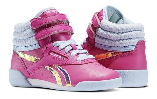 Zapatilla Fs Hi Classic Pink F Reebok Niïo