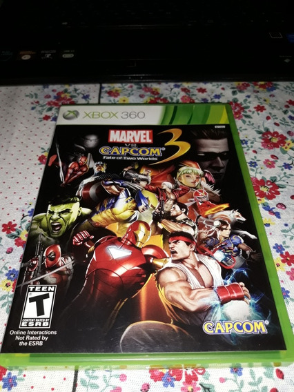 Marvel Vs Capcom Fate Of Two Worlds Xbox 360