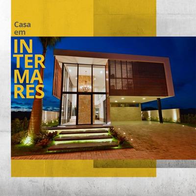 Casa De Luxo Com 380m² Em Intermares, Cabedelo - Pb V-5210