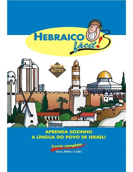 Hebraico Facil-livro-3 Cds E Dvd-novo Produto Original Sefer