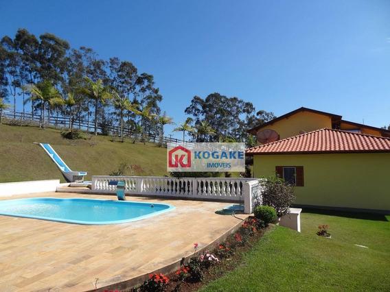 Sítio Com 4 Dormitórios À Venda, 282051 M² Por R$ 2.230.000 - Santa Terezinha - São Luiz Do Paraitinga/sp - Si0138