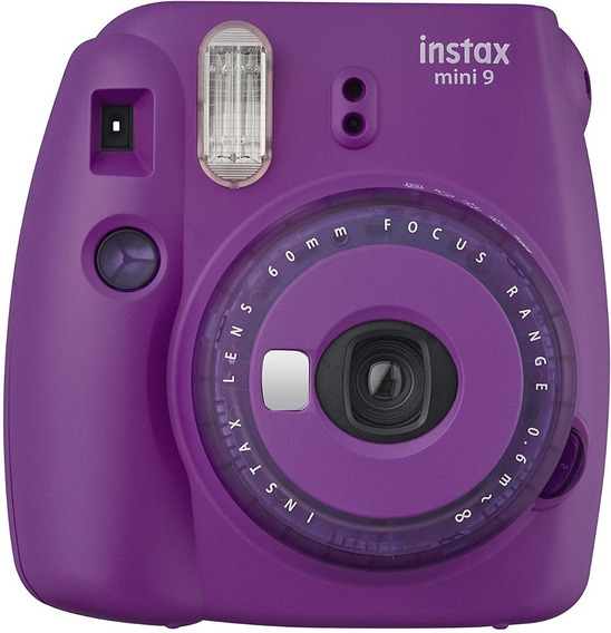 Câmera Revelação Instantânea Fujifilm Instax Mini 9 Roxa