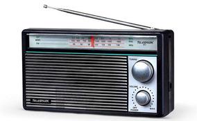Rádio Vintage Telespark Abc (3) Bands # Novo Okm # Raridade