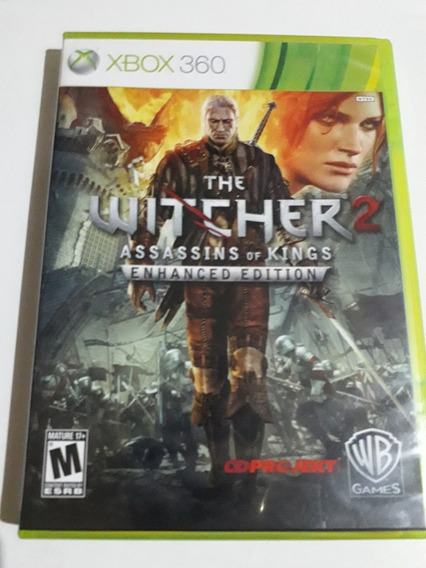 The Witcher 2 Assassins Of Kings Xbox 360 Mídia Física