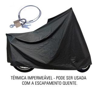 Capa Térmica Moto C/ Cadeado Yamaha Neo 125 | Ctm1c