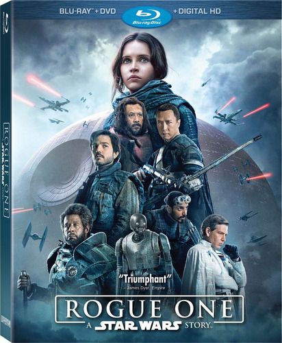 Rogue One: A Star Wars Story Combo Blu-ray + Dvd Original