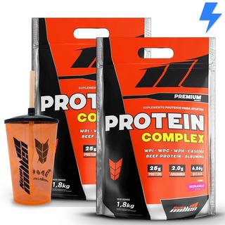 2x Protein Complex 1,8kg - New Millen + Brinde ( Copo )