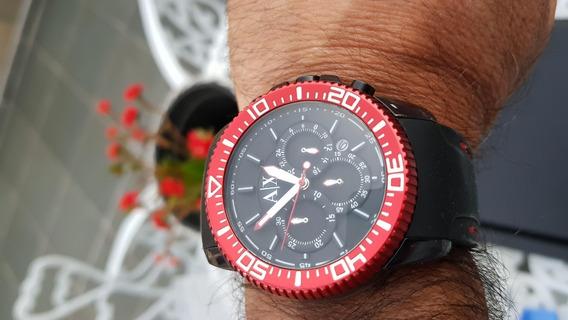 Relógio Armani Exchange Masculino, Esportivo, Novíssimo