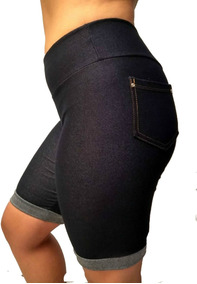 Kit 10 Bermuda Roupa Feminina Leg Fake Imita Jeans Oferta