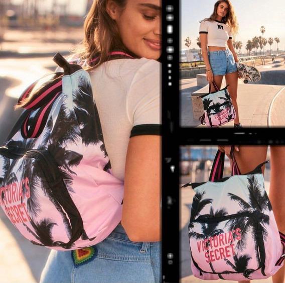 Mochila Victorias Secret Reversible Importada