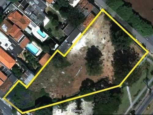 Campo Belo Terreno Com 4.095m2 Zona Zeup Frente A Av Dos Bandeirantes - Te0287