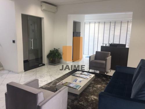 Casa Comercial Para Venda / Locação No Bairro Pacaembu Em São Paulo - Cod: Ja15757 - Ja15757