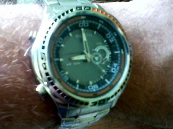 Frete Grátis Relógio Masc Atlantis 6098g Illuminator Anadigi