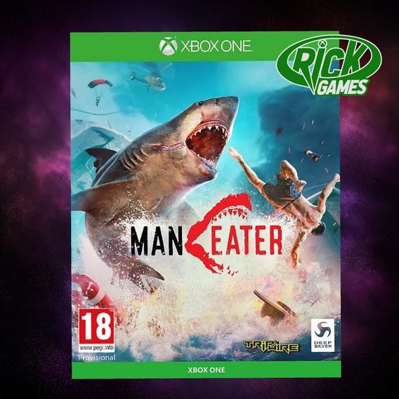 Maneater - Xbox One Código De 25 Dígitos