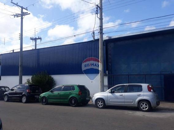 Galpão Para Alugar, 1035 M² Por R$ 8.278/mês - Vila Industrial - Bom Jesus Dos Perdões/sp - Ga0158