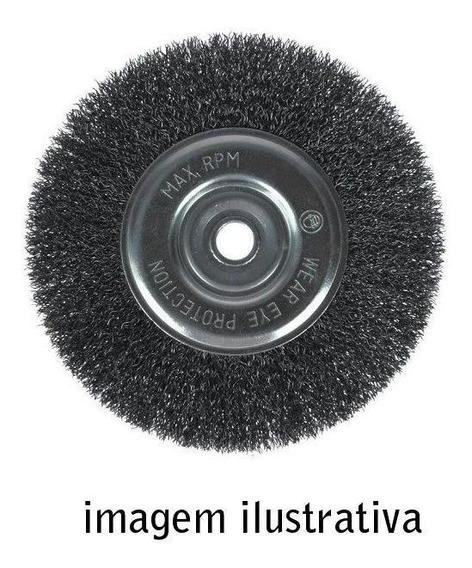 Escova Aco Circular 3600rpm 10x1 Inebras