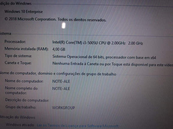 Notebook Inspiron 5458