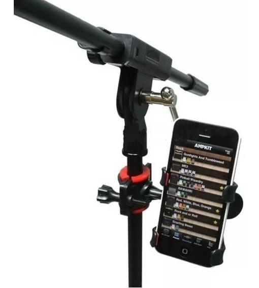 Suporte Celular P/ Pedestal De Microfone Cifras