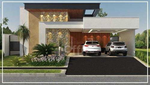 Casa Com 3 Dormitórios À Venda, 244 M² Por R$ 1.300.000,00 - Condomínio Residencial Grand Trianon - Anápolis/go - Ca0655