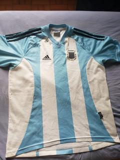 Camisa Oficial Da Argentina