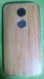 Celular Moto X2 4g Tapa Bambu Marron Clarito 32gb Movistar