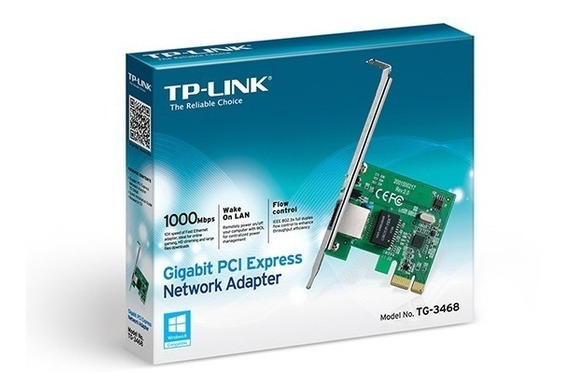 Placa De Red Pci Lan Tp-link 100/1000 Tg-3468